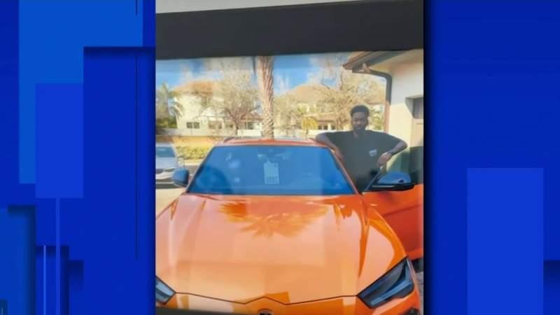 Orlando Magic player's Lamborghini stolen, taken for a joy ride before crash