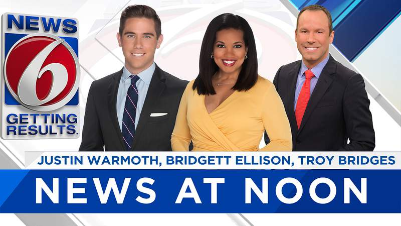 WATCH LIVE: News 6 at Noon : Oct 26, 2020