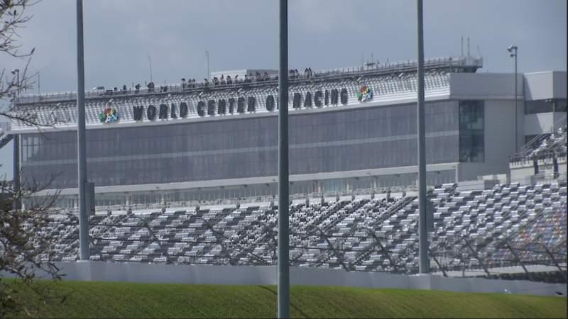 Preps begin ahead of the 2021 Daytona 500 race weekend.