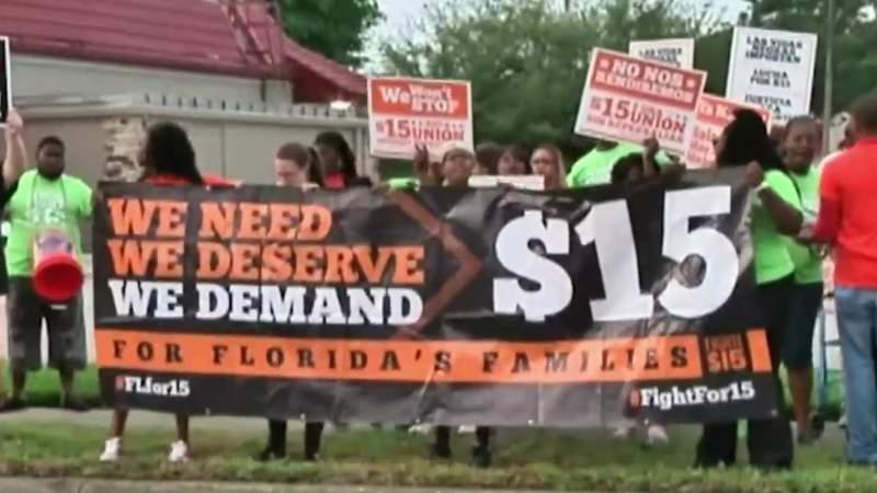 Floridians pass amendment for higher minimum wage