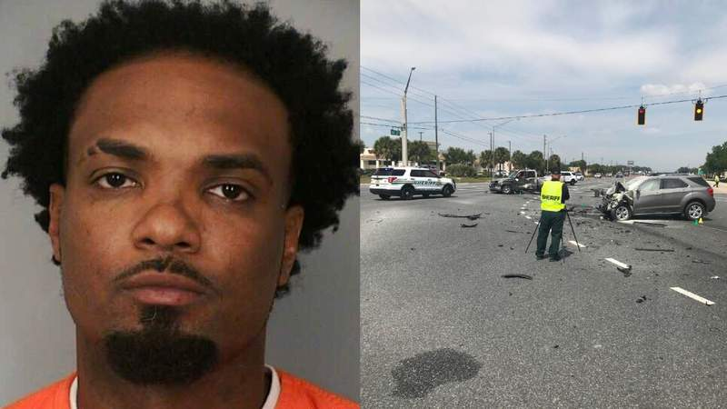Courtney Wright, 30, charged in fatal Polk County crash that killed 80-year-old man.