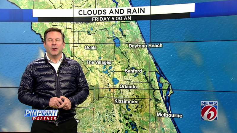 Cold air grips Central Florida
