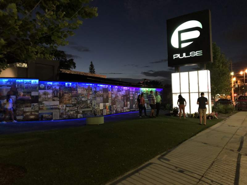 People paid their respects on Friday to the 49 lives lost at Pulse Nightclub four years ago.