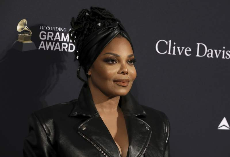 Janet Jackson arrives at the Pre-Grammy Gala And Salute To Industry Icons at the Beverly Hilton Hotel on Saturday, Jan. 25, 2020, in Beverly Hills, Calif. (Photo by Mark Von Holden/Invision/AP)