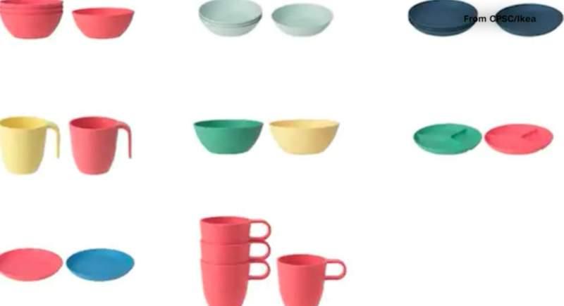 Ikea recalls nearly 160,000 plates, bowls, mugs (Ikea)