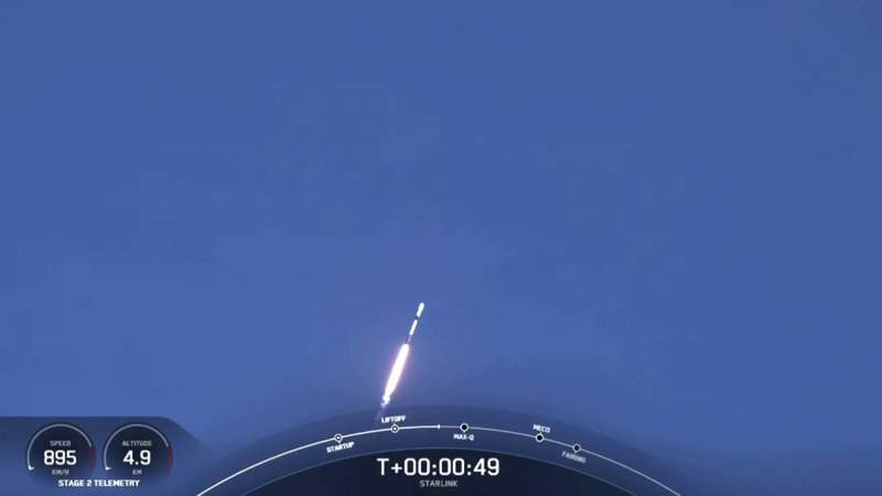 SpaceX launches 17th Starlink mission