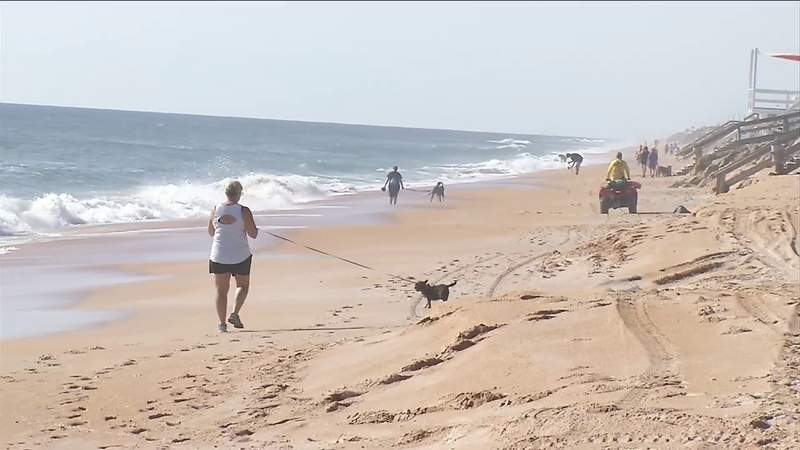 Flagler County beaches reopen on limited basis