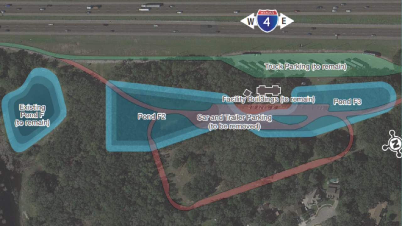 Rest stop on eastbound I-4 in Seminole County to permanently close to motorists