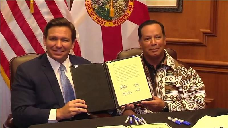 New deal with Seminole Tribe struck by state would make sports betting legal