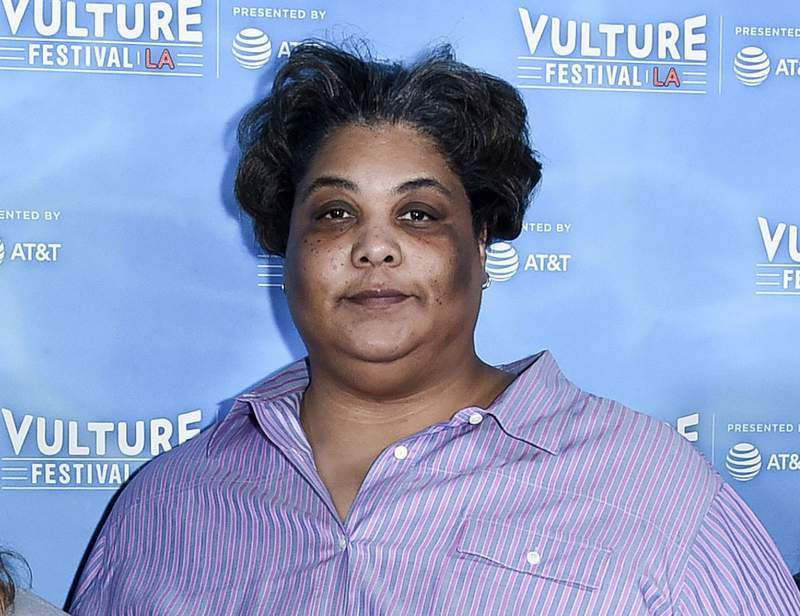 FILE - This Nov. 18, 2017 file photo shows author Roxane Gay at the 2017 Vulture Festival Los Angeles in Los Angeles. Gays latest project is an imprint that will release the kinds of books she likes to read. The author of such acclaimed works as Bad Feminist and Hunger is teaming up with Grove Atlantic on Roxane Gay Books, which will publish three books a year.  (Photo by Richard Shotwell/Invision/AP, File)