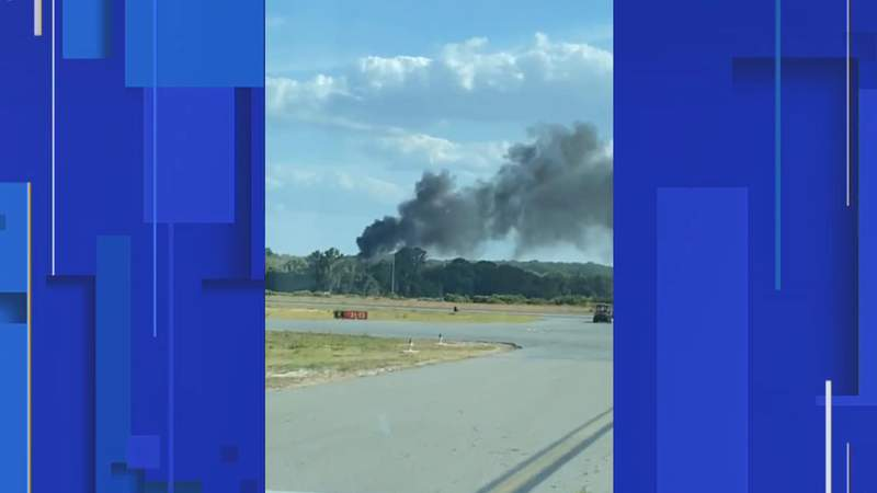 A Black Hawk helicopter crashed into a marsh near the Leesburg airport during a training exercise.