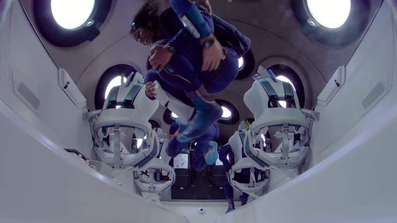 VIDEO: Virgin Galactic crew reacts to spaceflight