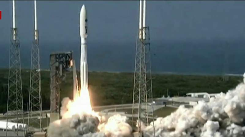 Atlas V blasts off from Cape Canaveral with first mission under U.S. Space Force