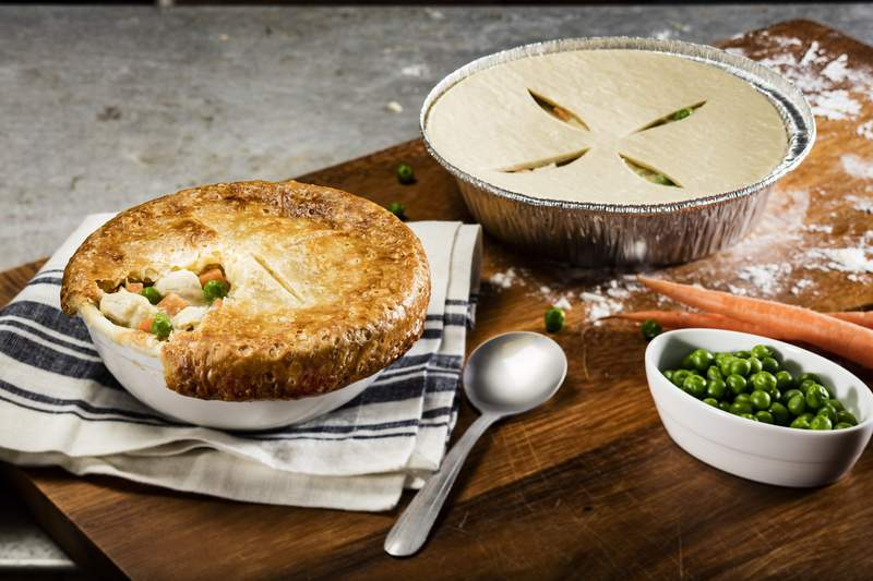 Pot pies from Cheddar's