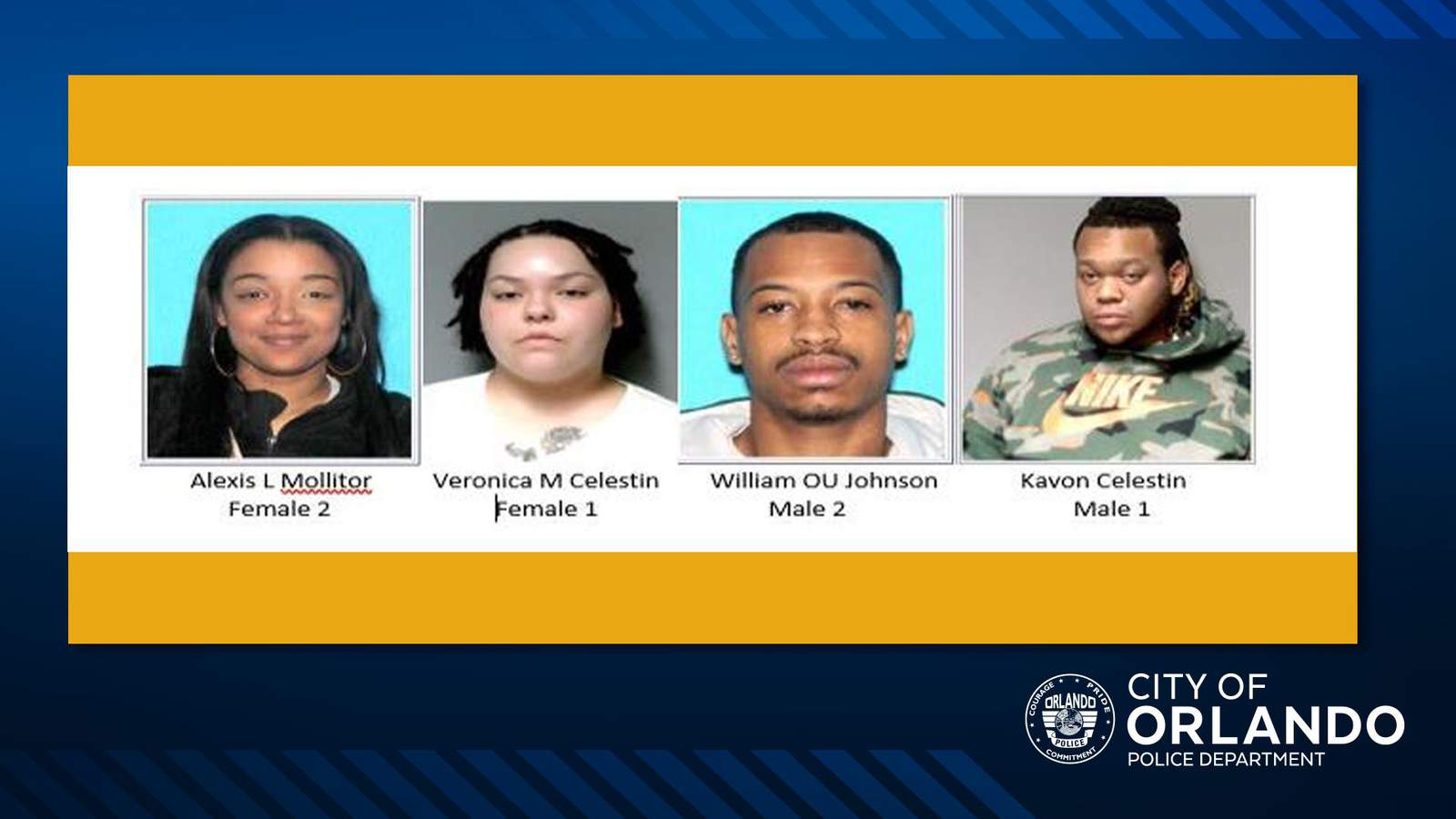 64 North Shooting Suspects