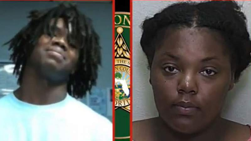 Marion County deputies arrested a 17-year-old boy and an 18-year-old woman accused of carjacking a man at a gas station, according to the sheriff's office.