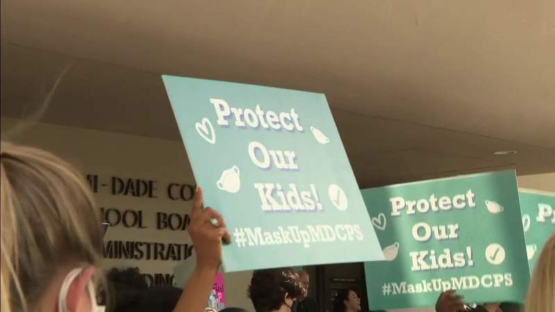 Miami-Dade School Board votes to require masks on students when classes begin