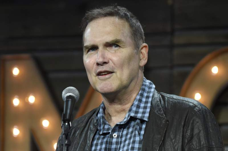 Norm Macdonald in 2017 in Del Mar, California.  (Photo by Tim Mosenfelder/Getty Images)