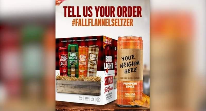 Bud Light launches pumpkin spice spiked seltzer