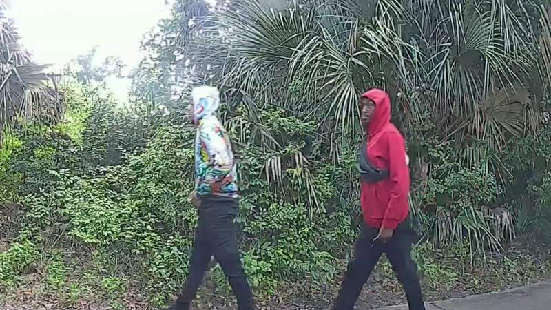 Video evidence shows persons of interest in deadly Titusville home invasion