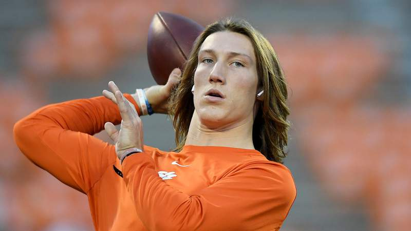 Clemson quarterback Trevor Lawrence is expected to be the top pick in this year's NFL Draft. Photo by Mike Comer