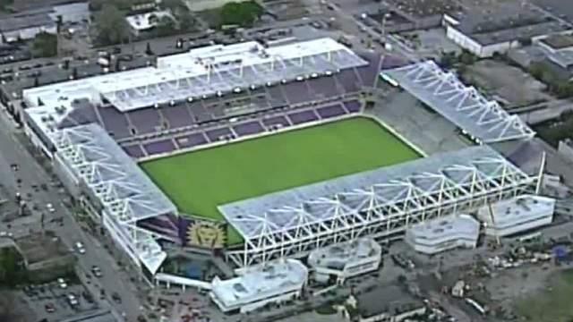 Orlando City's new soccer stadium. (February 2017)