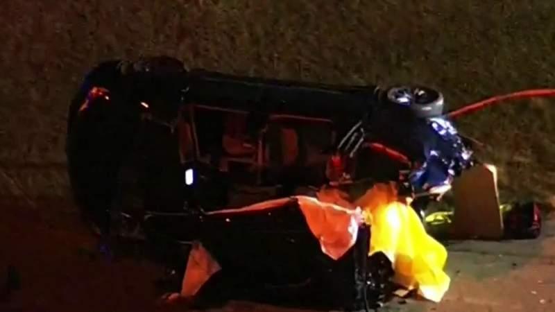 4 killed in 4-vehicle crash near Disney World, troopers say