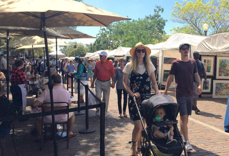 The Winter Park Sidewalk Art Festival has been canceled, according to event officials.