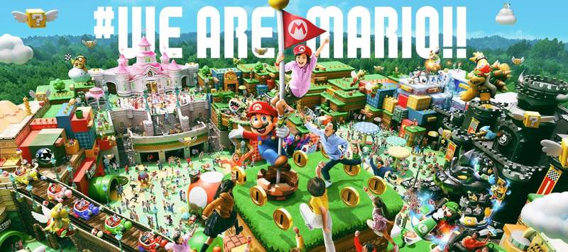 Universal Studios Japan will hold its grand opening of the world's first SUPER NINTENDO WORLD on March 18, 2021