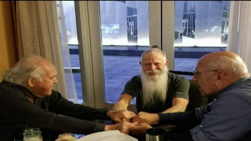 Trio of veterans reunite 50 years after Vietnam.