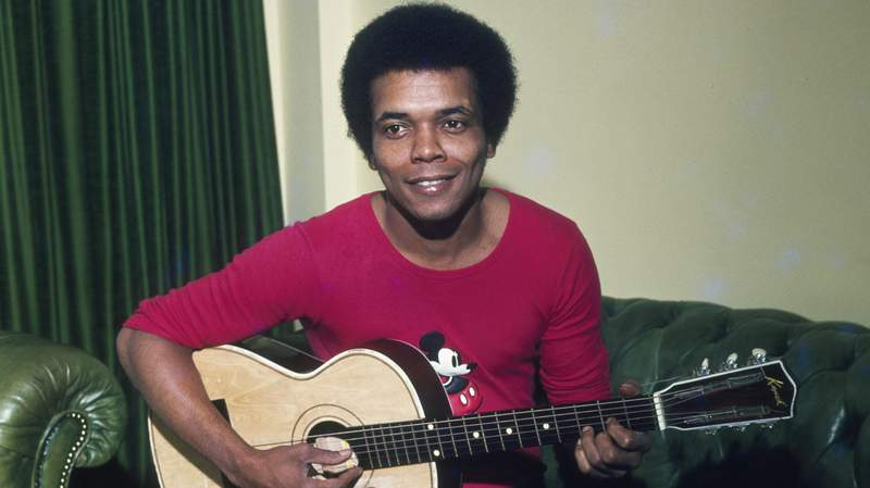 """Johnny Nash, a singer-songwriter, actor and producer who rose from pop crooner to early reggae star to the creator and performer of the million-selling anthem """"I Can See Clearly Now,"""" died Tuesday, his son said."""