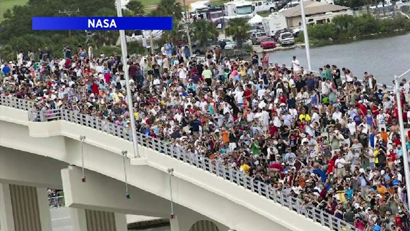 Titusville police ask locals to watch astronaut launch from home