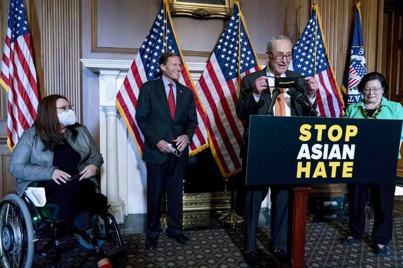 www.clickorlando.com: Senate OKs bill to fight hate crimes against Asian Americans