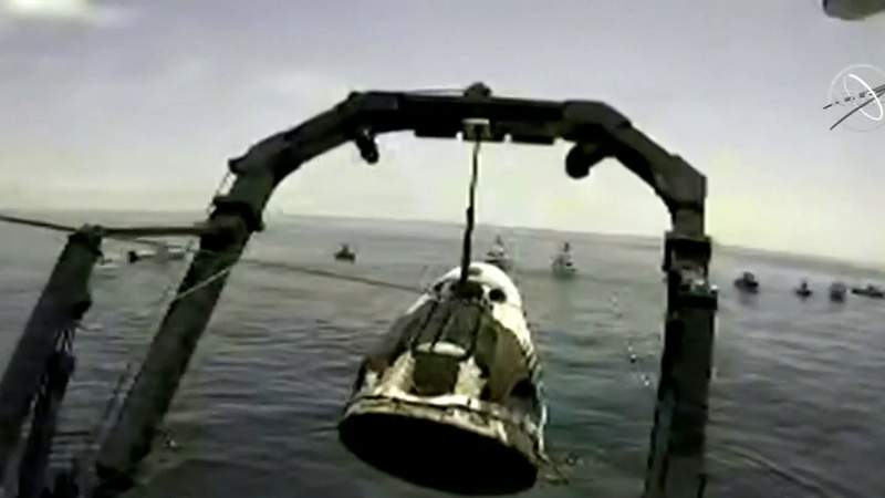 After private boaters beeline for SpaceX spacecraft landing site, NASA says more resources needed next time