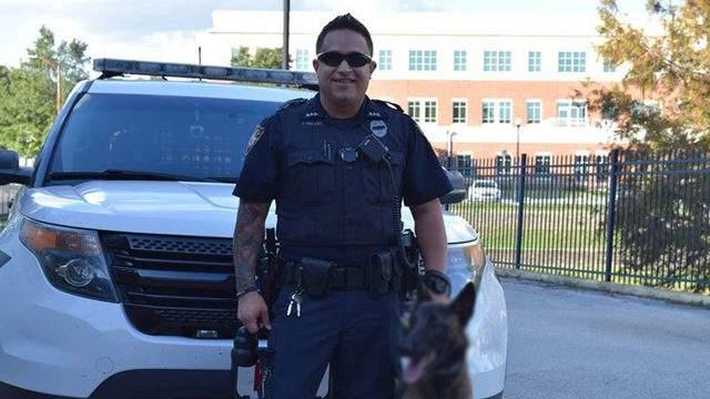 Former DeLand police officer Joey Mulero. (Image:City of DeLand/Facebook)
