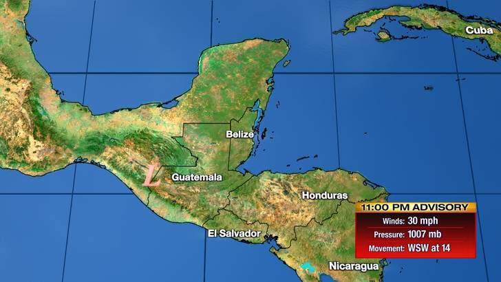 Tropics Forecast Cone at 10:39 Thursday Evening, September 03rd