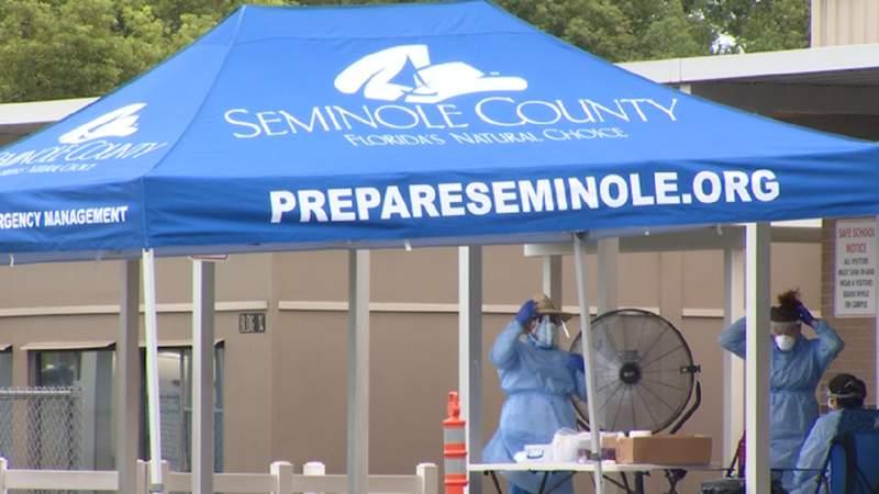 Coronavirus testing in Seminole County