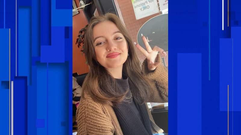 Paige Miller, 18, of DeLand.