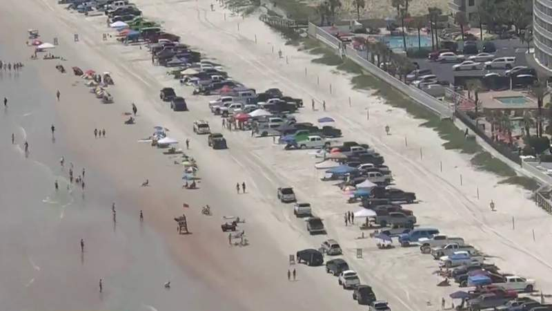 Beaches see crowds as Daytona Truck Meet kicks into high gear