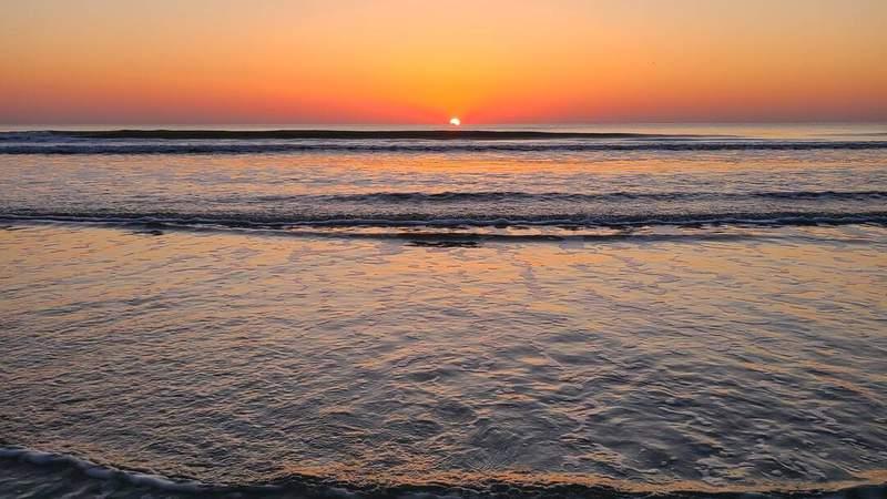 SnapJax user Andy Hernandez shared this sunrise photo taken in Jacksonville Beach.