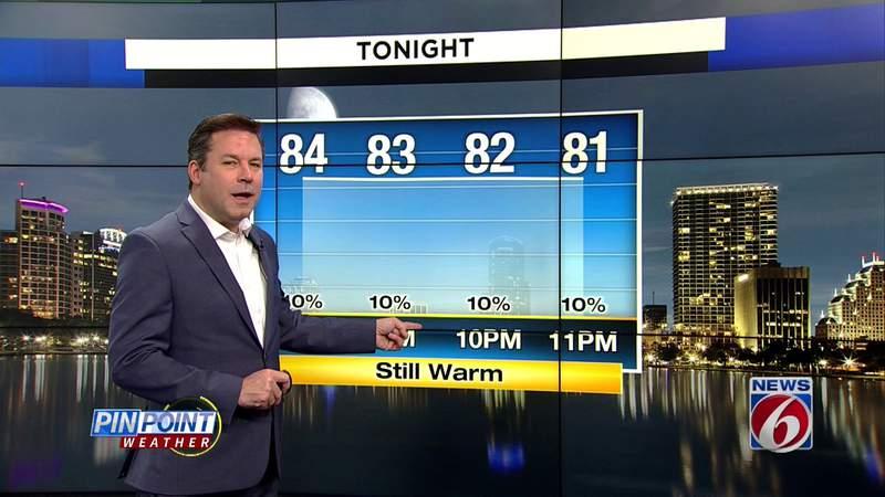 Rain returns, heat remains in Central Florida