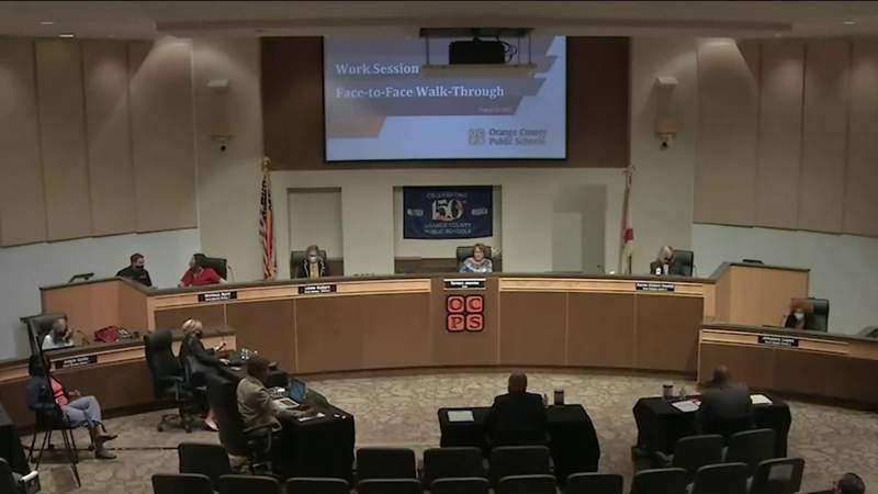 Orange County Public Schools holds final workshop before students return to campus