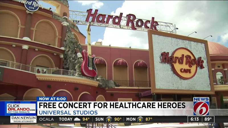 Free concert for Healthcare Heroes