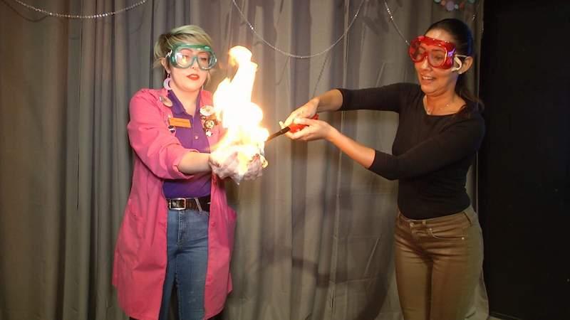 Orlando Science Center kicks off Bubble Bash event. (Image: News 6 photojournalist Justin Potter)