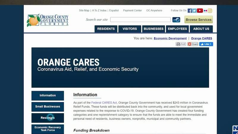 Central Florida preparing for another round of Cares Act Funding