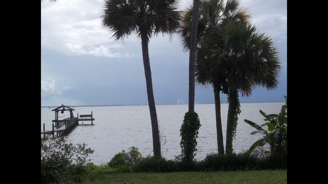 This is looking east across the Indian River towards the VAB...not a good beach day!   Thanks   Susan Miller Phillips     218 Birch St. Titusville, FL  32780