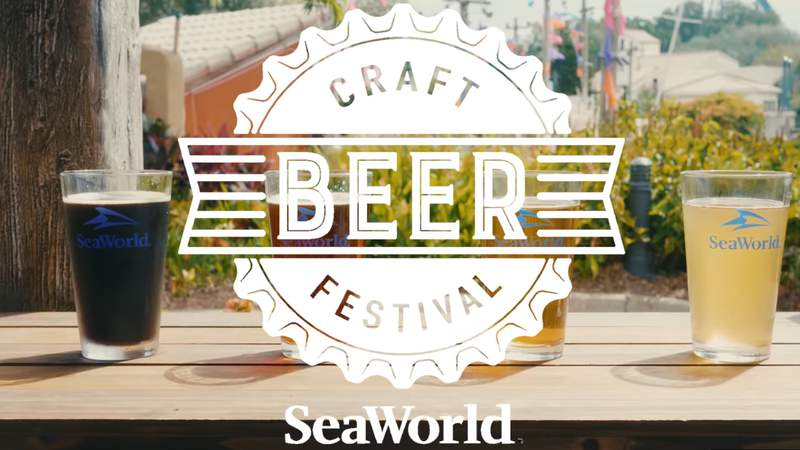 Craft Beer Festival at SeaWorld Orlando. The fun is brewing Fridays, Saturdays, & Sundays, plus Labor Day, August 13 – September 12 only at SeaWorld