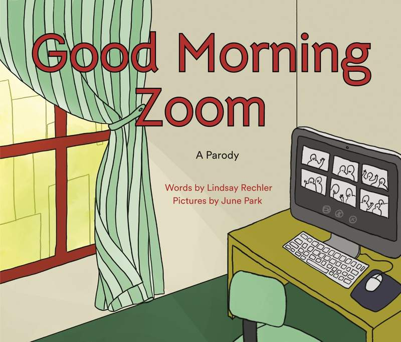 """This cover image released by Philomel shows """"Good Morning Zoom"""" by Lindsay Rechler, available October 6. (Philomel via AP)"""