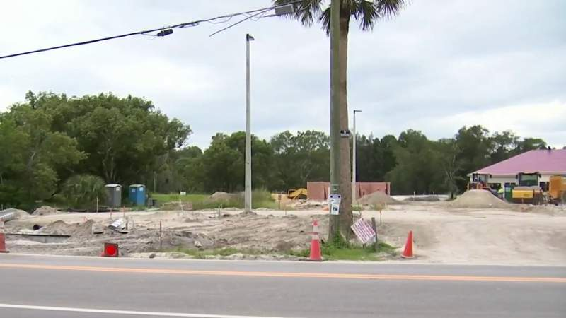 Racial slurs found in portable bathroom at construction site in Casselberry