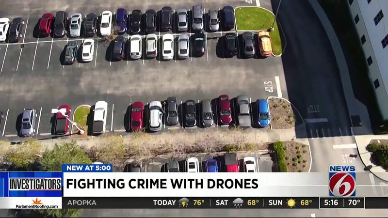 Fighting Crime with Drones
